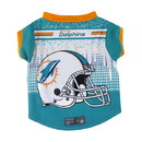 Miami Dolphins Pet Performance Tee Shirt Size XS