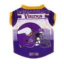 Minnesota Vikings Pet Performance Tee Shirt Size XS