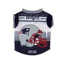 New England Patriots Pet Performance Tee Shirt Size L