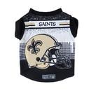 New Orleans Saints Pet Performance Tee Shirt Size XL