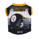 Pittsburgh Steelers Pet Performance Tee Shirt Size L