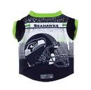 Seattle Seahawks Pet Performance Tee Shirt Size XL