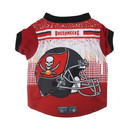 Tampa Bay Buccaneers Pet Performance Tee Shirt Size XS