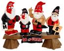Carolina Hurricanes Garden Gnome - Fans on Bench