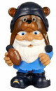 San Diego Chargers Garden Gnome - Mad Hatter