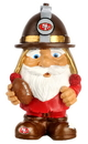 San Francisco 49ers Garden Gnome - Mad Hatter