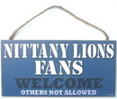 Penn State Nittany Lions Fans Wood Sign - 5