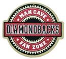 Arizona Diamondbacks Man Cave Fan Zone Wood Sign