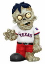 Texas Rangers Zombie Figurine