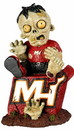 Miami Heat Zombie Figurine - On Logo