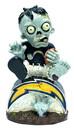 San Diego Chargers Zombie Figurine - On Logo