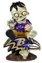 Baltimore Ravens Zombie On Logo Figurine
