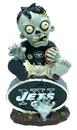 New York Jets Zombie On Logo Figurine