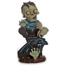 Carolina Panthers Zombie On Logo Figurine