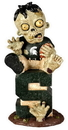 Michigan State Spartans Zombie Figurine - On Logo w/Football