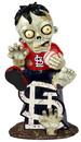 St. Louis Cardinals Zombie Figurine - On Logo