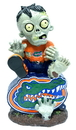 Florida Gators Zombie On Logo with Football Figurine