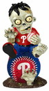 Philadelphia Phillies Zombie Figurine - On Logo