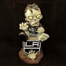 Los Angeles Kings Zombie Figurine - On Logo