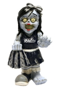 New York Yankees Zombie Cheerleader Figurine