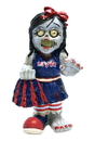 New York Rangers Zombie Cheerleader Figurine