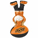 Oklahoma State Cowboys Garden Gnome - Handstand On Football