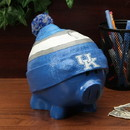 Kentucky Wildcats Piggy Bank - Large With Hat