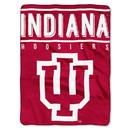 Indiana Hoosiers Blanket 60x80 Raschel Basic Design
