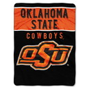 Oklahoma State Cowboys Blanket 60x80 Raschel Basic Design Special Order