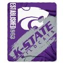 Kansas State Wildcats Blanket 50x60 Fleece Painted Design Special Order