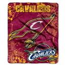 Cleveland Cavaliers Blanket 50x60 Raschel Drop Down Design