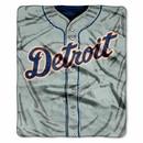 Detroit Tigers Blanket 50x60 Raschel Jersey Design