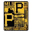 Pittsburgh Pirates Blanket 50x60 Fleece Strength Design