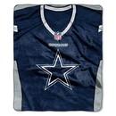 Dallas Cowboys Blanket 50x60 Raschel Jersey Design