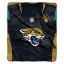 Jacksonville Jaguars Blanket 50x60 Raschel Jersey Design