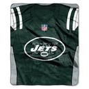 New York Jets Blanket 50x60 Raschel Jersey Design