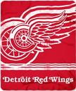 Detroit Red Wings Blanket 50x60 Fleece Fade Away Design