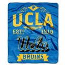 UCLA Bruins Blanket 50x60 Raschel Label Design