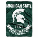 Michigan State Spartans Blanket 60x80 Raschel Rebel Design