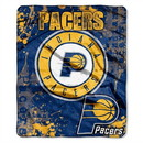 Indiana Pacers Blanket 50x60 Raschel Drop Down Design