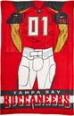 Tampa Bay Buccaneers Blanket 48x71 Comfy Throw Player Design
