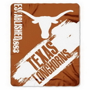 Texas Longhorns Blanket 50x60 Fleece College Painted Design