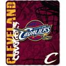 Cleveland Cavaliers Blanket 50x60 Fleece Hard Knocks Design