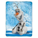 Frozen Disney Blanket 46x60 Micro Fleece Chills & Thrills