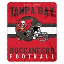 Tampa Bay Buccaneers Blanket 50x60 Fleece Singular Design