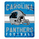 Carolina Panthers Blanket 50x60 Fleece Singular Design