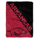 Arkansas Razorbacks Blanket 46x60 Micro Raschel Halftone Design Rolled Special Order
