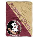 Florida State Seminoles Blanket 46x60 Micro Raschel Halftone Design Rolled