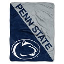Penn State Nittany Lions Blanket 46x60 Micro Raschel Halftone Design Rolled