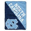 North Carolina Tar Heels Blanket 46x60 Micro Raschel Halftone Design Rolled Special Order